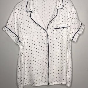 Polka Dot Short Sleeve Short Pajama Set Old Navy
